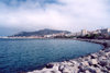 Ceuta, North Africa: Compañia del Mar av. and Mount Hacho - bay / Avenida Compañia del Mar + monte Hacho - photo by M.Torres