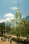 Antofagasta, Chile: San Jos� cathedral - Plaza Col�n - | Parroquia San Jos�, Catedral de Antofagasta - Plaza Col�n - photo by D.Smith