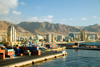Antofagasta, Chile: port and skyline | puerto y panorama Urbano - photo by D.Smith