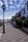 Valpara�so, Chile: Conception Street on Cerro Conception with historical and colorful houses and lampposts - photo by C.Lovell