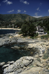 Zapallar, Valpara�so region, Chile: mansions along the coast - photo by C.Lovell