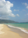 China - Hainan Island: beach - the Chinese Hawaii (photo by G.Friedman)