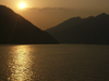 214 China - Chongqing municipality - Yangtze / Chang Jiang River: sunset (photo by M.Samper)