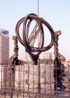 Beijing, China: armillary sphere - astronomical observatory built by the Jesuits - Company of Jesus - esfera armilar - photo by M.Torres