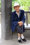 China - Sichuan Province: Chengdu: elderly gentleman (photo by  G.Frysinger)