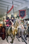 Beijing, China: the cavalry charges - Army museum - People's Military Museum