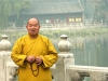 Beijing / Peking, China: monk - Temple of Heaven - photo by G.Friedman