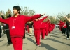 Beijing / Peking, China: morning calesthenics - morning gymnastic - photo by G.Friedman