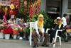 China - Hainan Island: Muslim women - florist (photo by G.Friedman)