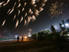 China - Hainan Island: fireworks - Chinese New year - Spring Festival (photo by G.Friedman)