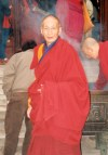 China - Beijing: Buddhist Monk at the forbidden city - Unesco world heritage site - photo by M.Torres