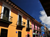 Bogota, Colombia: Colonial houses on Calle 8 - Old City - Centro Administrativo - La Candelaria - photo by M.Torres