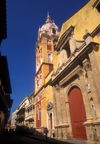 Colombia - Cartagena: the Cathedral - photo by D.Forman