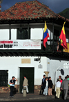 Bogota, Colombia: Plaza Bolivar, Calle 11 - Museum of the Independence - 16th century Spanish colonial architecture - Casa del Florero de Llorente, famous for the riot know as 'la Reyerta', 'the Brawl' of 1810 - Casa del 20 de Julio - Museo de la Independencia - La Candelaria - photo by M.Torres