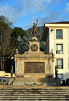 Bogota, Colombia: square and monument to the Ayacucho battle of 1824, which marked the end of Spanish rule in South America - Plaza y Monumento a la Batalla de Ayacucho - near Casa del Marqu�s de San Jorge - Carrera 7 - Centro Administrativo - La Candelaria - photo by M.Torres