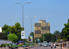 Brazzaville, Congo: Ministry of Planning tower seen from the Djoué avenue - photo by M.Torres