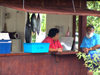 Cook Islands - Rarotonga island: selling fish - photo by B.Goode