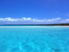 Cook Islands - Aitutaki: ripples in turquoise lagoon - photo by B.Goode