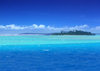 Cook Islands - Aitutaki: waves crashing on the reef of Tropical Island in the Pacific - Paradise lagoon - photo by B.Goode