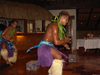 Cook Islands - Aitutaki island: local dancer - Amuri - photo by B.Goode