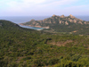 Corsica - Propriano area (Corse du Sud): coast and Genoese watch tower (photo by J.Kaman)