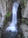 Corsica / Corse - Manganello river valley: waterfall (photo by J.Kaman)