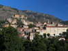 Corsica - Corte: the town and the mountain (photo by J.Kaman)