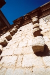 Corsica - Corsica - Porto Vecchio ( Southern Corsica ): granite blocks on the church walls (photo by M.Torres)