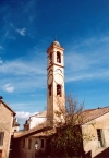 Corsica / Corse - Corte (Haute Corse): church tower (photo by M.Torres)