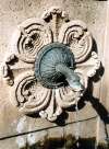 Corsica - Saint Florent: fountain detail (photo by M.Torres)