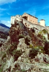Corsica / Corse - Corte (Haute Corse): the fortress (photo by M.Torres)