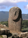 Corsica / Corse - Filitosa: Menhir (photo by J.Kaman)