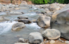 Naranjito, Puntarenas province, Costa Rica: rapids on the river - photo by M.Torres