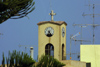 Crete - Malia: clock tower and antennas (photo by A.Dnieprowsky)