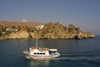 Crete - Agios Pavlos: pleasure boat (photo by A.Dnieprowsky)