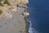 Crete - Preveli: the beach from above (photo by A.Dnieprowsky)