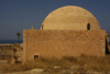 Crete - Rethimno: the Fortezza - dome - Sultan Ibrahimmos (photo by A.Dnieprowsky)