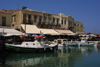 Crete - Rethimno: harbour restaurants (photo by A.Dnieprowsky)