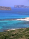 Crete - Balos / Mpalos (Hania prefecture): view towards Gramvoussa island (photo by Rick Wallace)