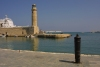 Crete - Rethymno: the lighthouse (photo by Alex Dnieprowsky)