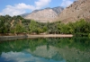Crete / Kriti - Zaros - Kanourgio (Heraklio): mountain reflection (photo by A.Dnieprowsky)