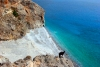 Crete - Sfakia / Chora Sfakion (Hania prefecture): Iligni beach (photo by Alex Dnieprowsky)