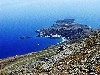 Crete - Loutro (Hania prefecture / near Sfakia): the ancient port of Phoenix from above (photo by Alex Dnieprowsky)