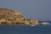 Crete - Spinalonga island (Lassithi prefecture - Agios Nikolaos municipality): the Venetian fortress (photo by Alex Dnieprowsky)