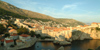 Croatia - Dubrovnik: ramparts - old town from Plie - photo by J.Banks