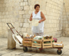 Croatia - Dubrovnik: fruit seller - photo by J.Banks