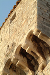 Croatia - Dubrovnik: old town - tower detail - photo by J.Banks