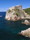 Dubrovnik: Lovrjenac Fortress (photo by J.Kaman)