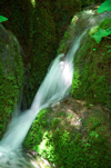 Croatia - Plitvice Lakes National Park: small waterfall - photo by P.Gustafson