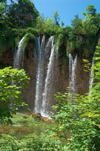 Croatia - Plitvice Lakes National Park:  falls on the upper lakes - Unesco world heritage site - photo by P.Gustafson